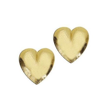 Coeur en cire or 21x23mm SB2