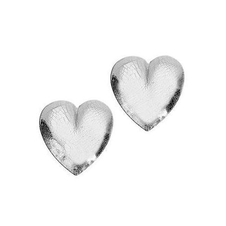 Coeur en cire argent21x23mm SB2