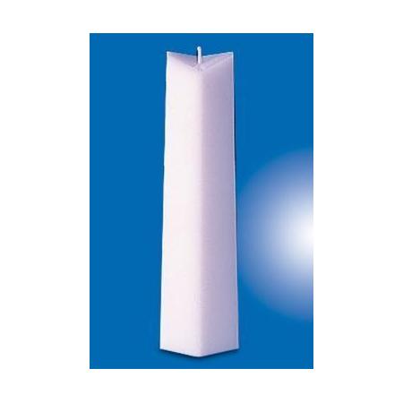 Moule p. bougies cône rhombiqu