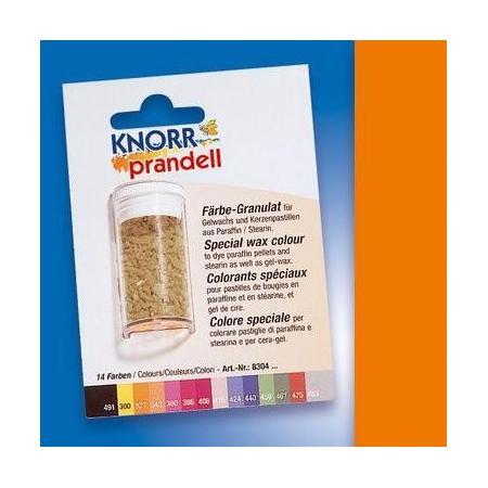 Colorant pour cire orange 4g