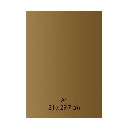 Papier auto-adhésif or A4 110GRS