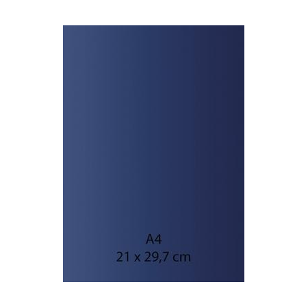 Papier auto-adhésif bleu A4 110GRS