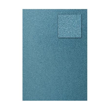 Carton pailleté bleu clair A4 200GRS