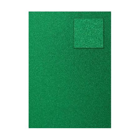 Carton pailleté vert foncé A4 200GRS