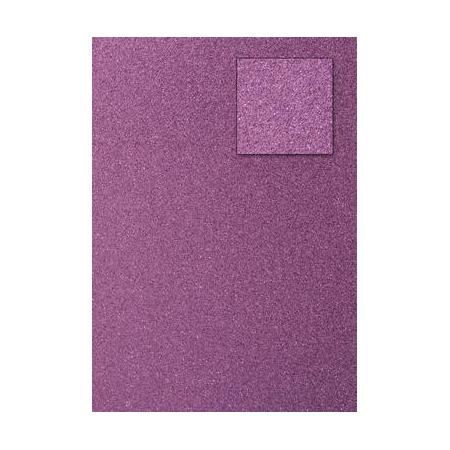 Carton pailleté rose A4 200GRS