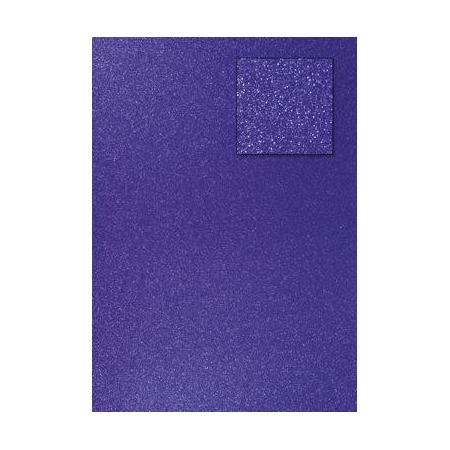 Carton pailleté bleu royal A4 200GRS