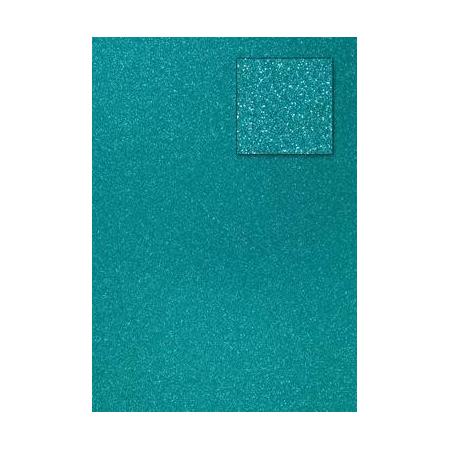 Carton pailleté bleu prussien A4 200GRS