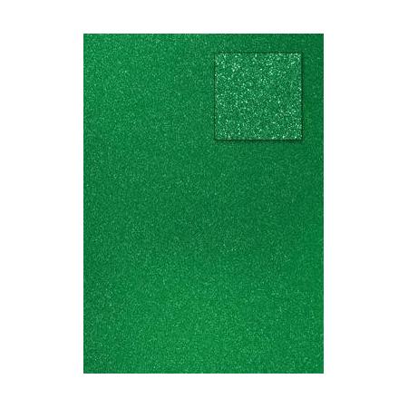 Carton pailleté vert clair A4 200GRS