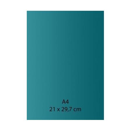 Papier auto-adhésif vert A4 110GRS