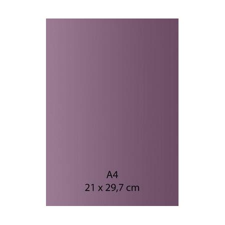 Papier auto-adhésif lilas A4 110GRS