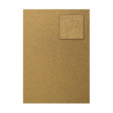 Carton pailleté or A4 200GRS