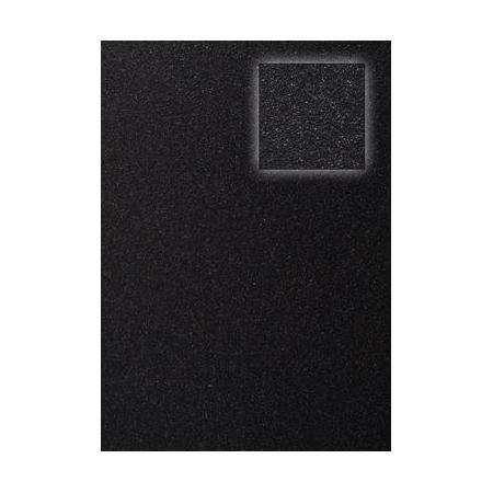 Carton pailleté noir A4 200 GRS