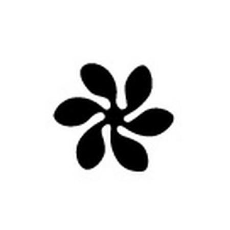 Easy punch fleur romantique 25 x 22.5 mm