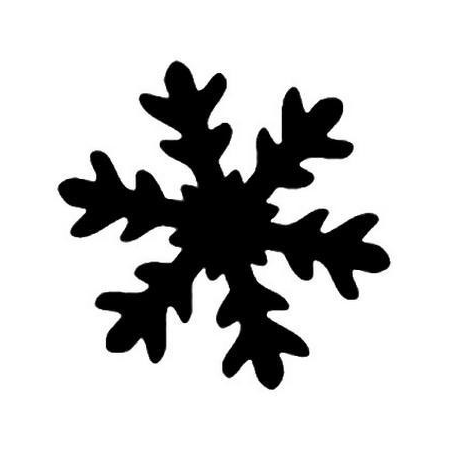 Easy punch flocon de neige 3 35 x 36 mm