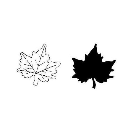 Floralpunch leaf2 ahorn 30 x 30 mm