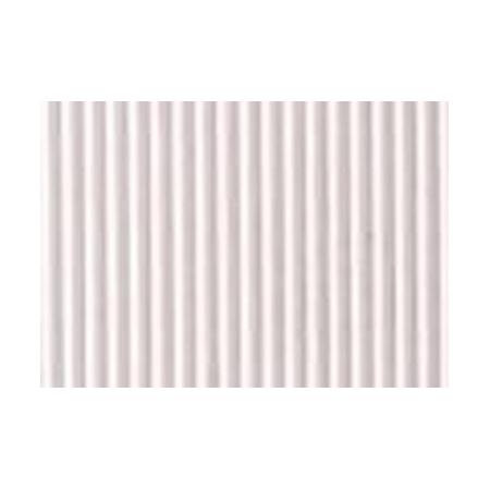 Carton ondulé 50x70cm blanc