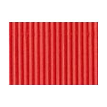 Carton ondulé 50x70cm rouge
