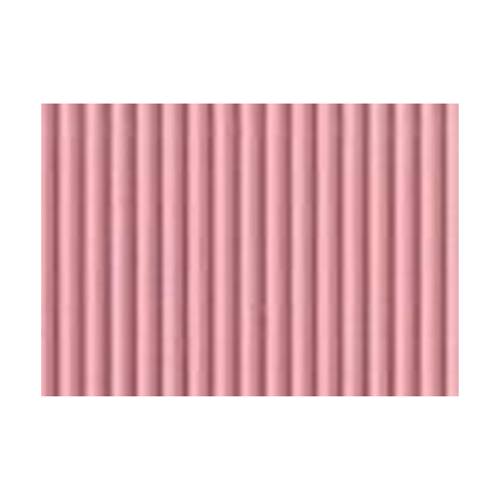 Carton ondulé 50x70cm rose