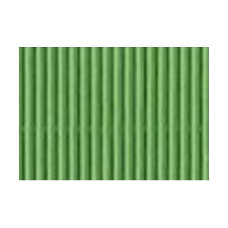 Carton ondulé 50x70cm vert printemps