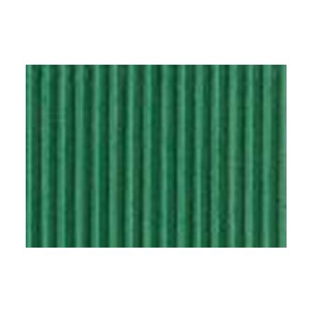 Carton ondulé 50x70cm emeraude