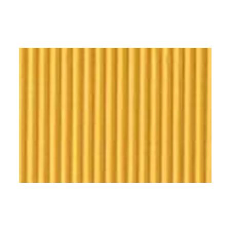 Carton ondulé 50x70cm,rouleau ,jaune
