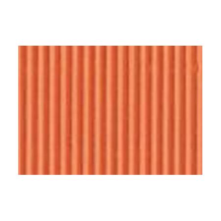 Carton ondulé 50x70cm,rouleau,orange