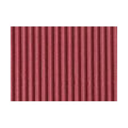 Carton ondulé 50x70cm,rouleau,bordeaux