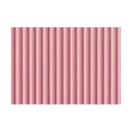 Carton ondulé 50x70cm,rouleau,rose