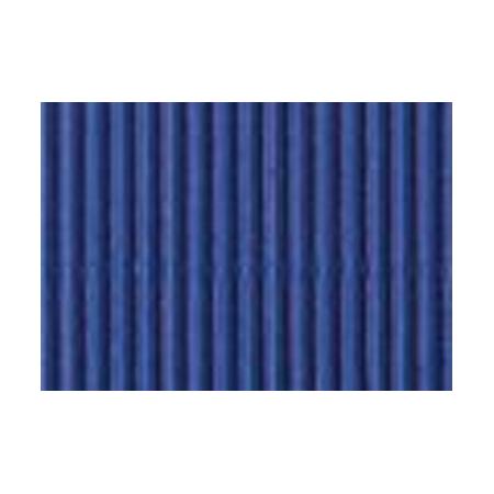 Carton ondulé 50x70cm,rouleau,bleu