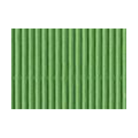 Carton ondulé 50x70cm,rouleau vert printemps