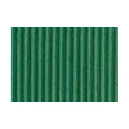 Carton ondulé 50x70cm,rouleau vert émeraude