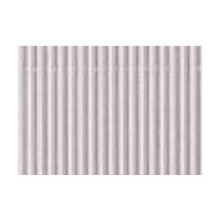 Carton ondulé 50x70cm,roul.argenté