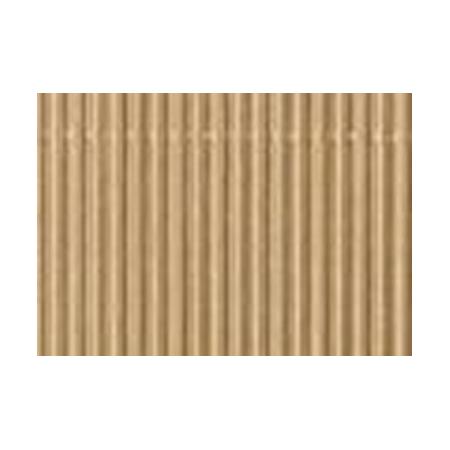 Carton ondulé 50x70cm,rouleau,doré