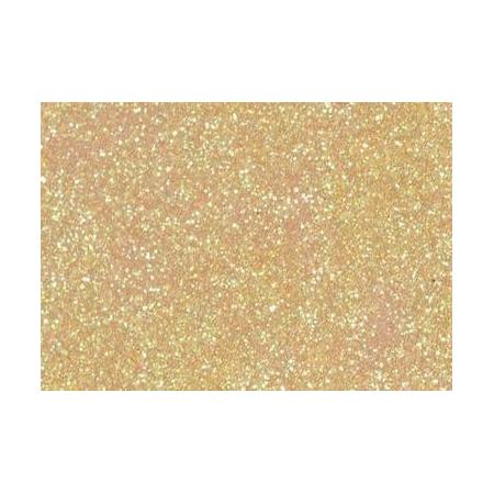 Colle pailletée 50ml jaune