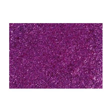 Colle pailletée 50ml lilas foncé