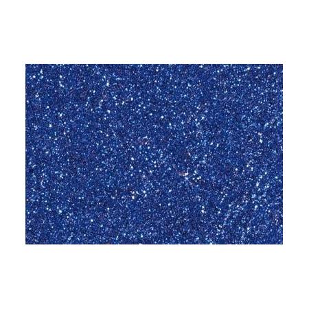 Colle pailletée 50ml bleu foncé