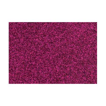 Film à repasser glitter 9x16 fuschia