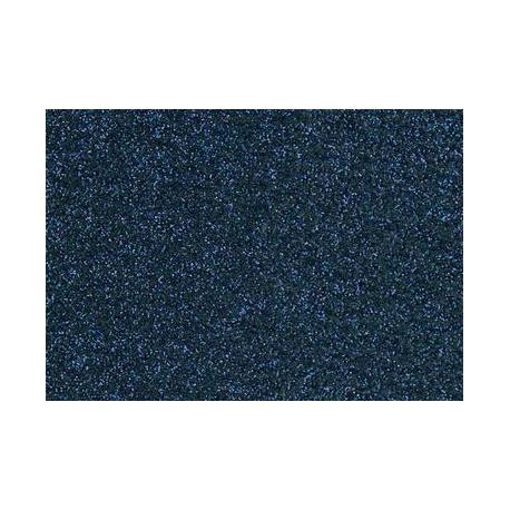 Film à repasser glitter 9x16 bleu antique