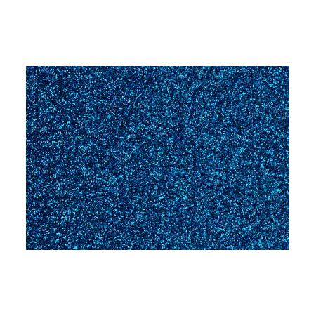 Film à repasser glitter 9x16 bleu ciel