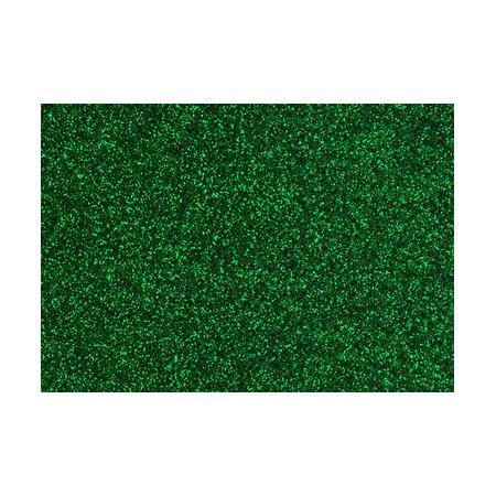 Film à repasser glitter A4 lime