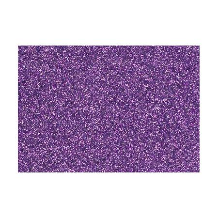 Film à repasser glitter A4 lavande