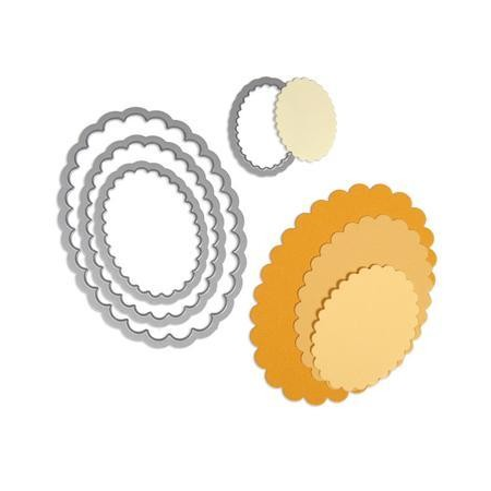 Framelits Die Set ovals scallo