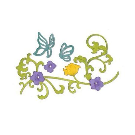 Thinlits Dies - Butterflies & Flower