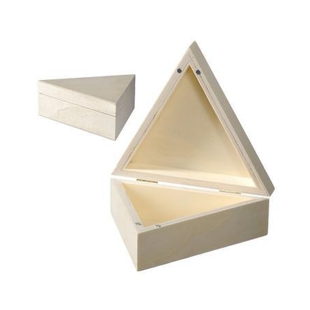 Boîte triang./magn.14x5cm