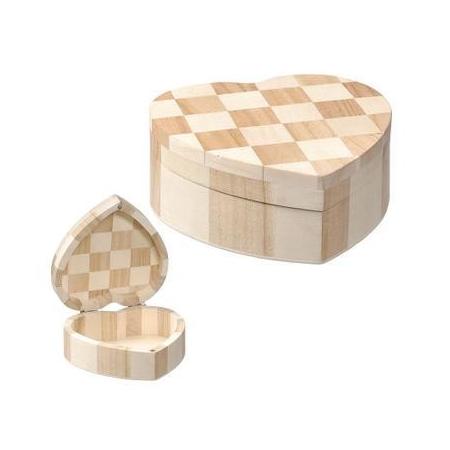 Boîte en forme de coeu12x5