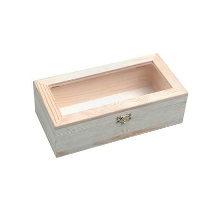 Boîte bois av.fen24x12x7,5