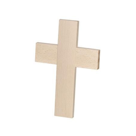 FSC Croix en bois25x17x1,5cm