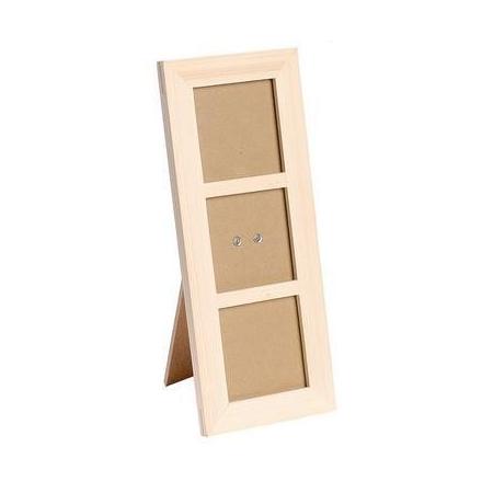 FSC Cadre en bois 27x11cm