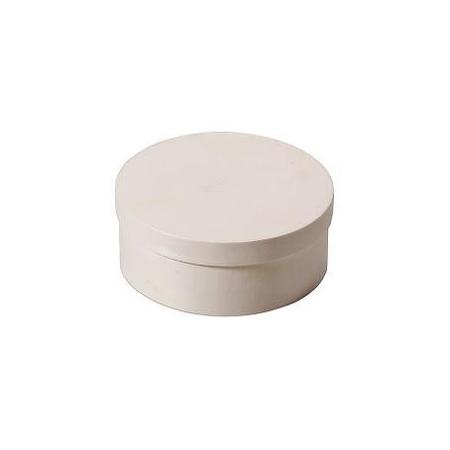 Boite en copeaux ronde en peuplier d:9x5cm