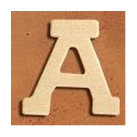 Lettre en bois 'A' 4cm